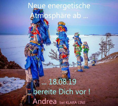 """""""Bereite dich vor! Wichtige energetische Einflüsse"""" – von Andrea"""